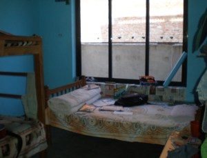 One of the boys' bedrooms