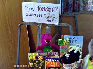Tombola Barney!