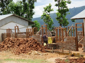 Rebuilding Chainpur village school