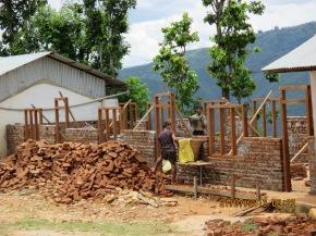 Rebuilding Chainpur village school